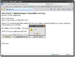 XSS Screenshot