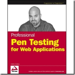 Pen Testing for Web Applications
