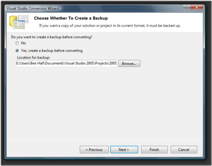 Visual Studio Conversion Wizard (2)